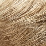 22F16 light ash blonde and light natural blonde blend with light blonde nape