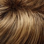 24BT18S8 medium ash blonde & light golden blonde blend, shaded with medium brown