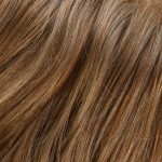 27T613F medium red gold blonde & pale gold blonde blend, pale tips & medium red gold blonde nape