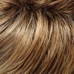 27T613S8 medium red golden blonde & pale gold blonde blend tipped with shaded medium brown